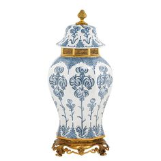 Eichholtz Debussy Vase - Blue and White