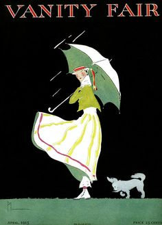 Vanity Fair, April, Illustration by Ethel Plummer Vanity Fair Magazine, Magazine Art, Old Magazines, Vintage Magazines, Fashion Illustration Vintage, Illustration Art, Magazine Illustration, Vintage Illustrations, Vintage Posters