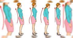 5 Ejercicios que te Ayudarán a Corregir tu Postura. - Increible