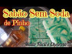 1,5 KG DE SABÃO SEM SODA USANDO 1 BARRA DE 200 G DE MERCADO! - YouTube