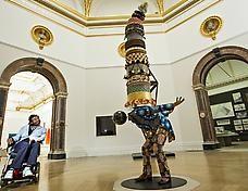 Yinka Shonibare at the Royal academy