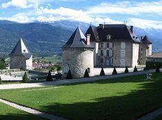 Château du Touvet near Grenoble, France