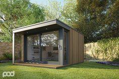 Inspiratie voor de Garden Cube; Wordt dit uw nieuwe kantoor aan huis?