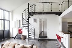 ed ei escalier Room, Interior, Home, Modern Stairs, Loft, Loft Bed, Room Inspiration, House Interior, Bachelor Pad