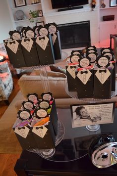 50 shades of grey party! Party favors @Evelyn Bindiola @Karen Villarreal @Melissa Orta I see this as our y'alls next bday party! LOL