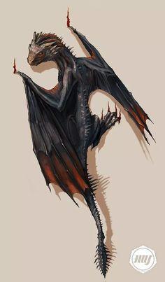 """Drogan // Game Of Thrones"" by ExitMotherShip @ deviantart"