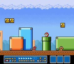 Mario Bros 3 mapas SNES