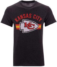 0a39c44d119 Authentic Nfl Apparel Men's Kansas City Chiefs Checkdown T-Shirt Nfl Apparel,  Kansas City