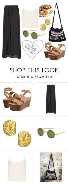 """Untitled #120"" by sofiafontes ❤ liked on Polyvore featuring Elizabeth and James, MANGO, Boyer New York, DAMIR DOMA, Topshop, Prada and Free People"