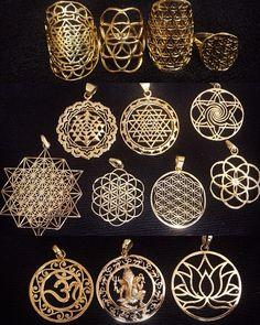 Sacred Geometry Jewelry