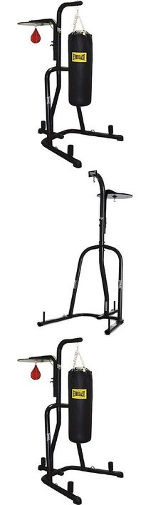 Bag Stands Platforms and Accs 179785: Free Standing Punching Bag Stand Everlast Stand Alone Dual Station Heavy Boxing -> BUY IT NOW ONLY: $125.94 on eBay!