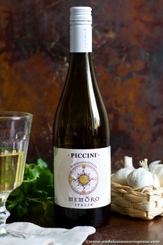 This Italian whie is a blend of Viognier, Chardonnay, Vermentino and Pecorino. Dry with nice acidity and oakiness to give it more body. Versatile wine for which I have a recipe pairing, too!