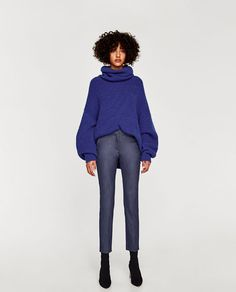 c89c98c4f1a7 Image 1 of JOGGER TROUSERS from Zara Παντελόνια