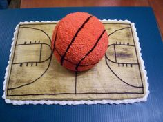 Basketball fans might like this cake.