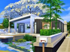 This beautiful small Cabin family home has elegant modern designs.Size and simplicity define this tiny house.Inside, you are sure to find a fireplaces, a cozy kitchen,beautiful living room, cozy...