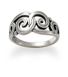 Gentle Wave Ring: James Avery. This would be the perfect everyday ring.