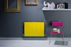 Why not sure the Bisque Blok radiator to inject some colour into a room?