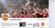 Facebook Timeline Design - Manchester United