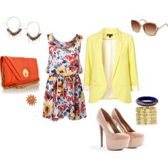 More summertime, created by brandy-michelle-ott on Polyvore