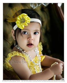 Yellow Petti Romper from The Couture Baby