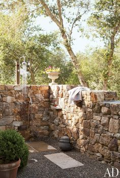 Connect with nature courtesy of these outdoor showers and baths