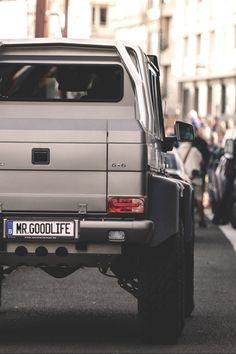 Sexy Mercedes G63