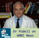 Dr. Podell Appearing on WNBC News 4 New York with Max Gomez - Possible Alternative Therapy Treatments to consider