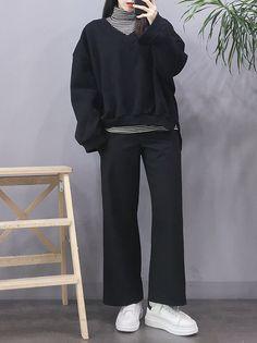 Tips on korean fashion outfits 570 Korean Girl Fashion, Korean Fashion Trends, Ulzzang Fashion, Korean Street Fashion, Korea Fashion, Asian Fashion, Fashion Men, Tokyo Fashion, India Fashion