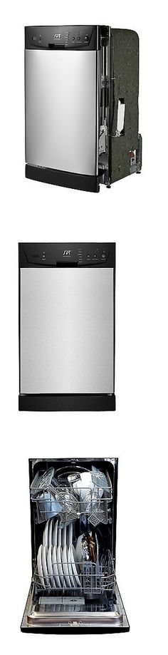 Dishwashers 116023: Spt Sd 9252Ss Energy Star 18 Built In Dishwasher  Stainless Steel