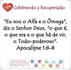 Aqui vivemos 1 dia de cada vez! Compartilhe, Curta e Comente a palavra de Deus! #crpibi #celebrandoarecuperacao
