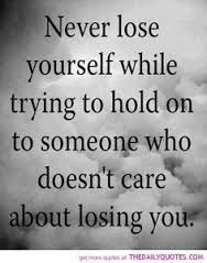 """hard to even say the words """"doesn't care about losing you"""" . Quotes We Heart It, Quotes To Live By, Me Quotes, Funny Quotes, Famous Quotes, Hurt Quotes, Daily Quotes, Wisdom Quotes, Steps Quotes"""