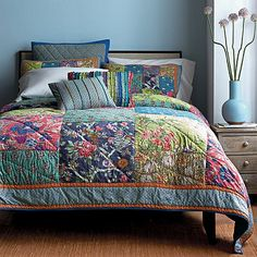 Sorrento Handmade Patchwork Quilt | The Company Store