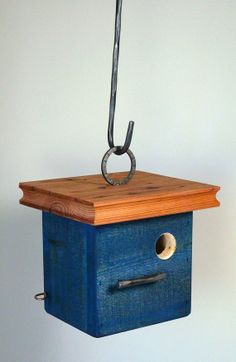 Beautiful in its simplicity.  The blue Zen by thebirdhousecompany, $55.00