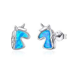(1) Charms – Oh My Charms LLC Gold Plated Earrings, Rose Gold Earrings, Sterling Silver Earrings Studs, Crystal Earrings, Women's Earrings, Cute Unicorn, Rainbow Unicorn, Chasing Unicorns, Rose Gold Plates