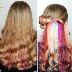 hidden rainbow - hair