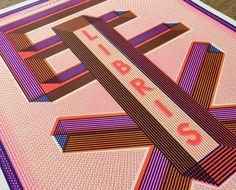 EX LIBRIS / risograph prints on Behance