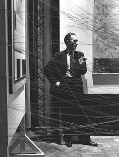 Marcel Duchamp- Mile Of String 1942
