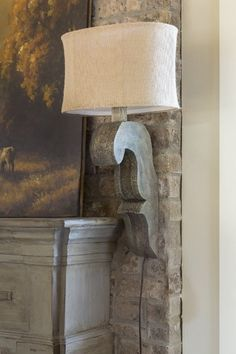 Corbel Lamp / Wall Sconce