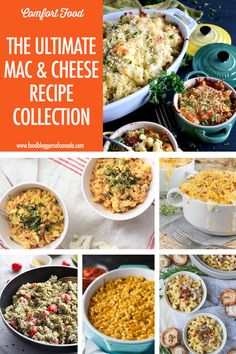The Ultimate Decadent Mac and Cheese Recipe Collection Mac Cheese Recipes, Chicken Pasta Recipes, Healthy Pasta Recipes, Beef Recipes, Pasta Dishes, Food Dishes, Side Dishes, Hamburger Mac And Cheese, Ultimate Mac And Cheese
