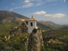 www.mirecreo.com El Castell de Guadalest, Alicante #guadalest #alicante #turismo #tourism #spain #trips #excursiones #mirecreo #travels #viajes