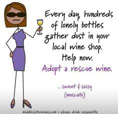 Adopt a rescue wine