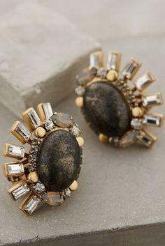 Elizabeth Cole Kamaria Clip-On Earrings
