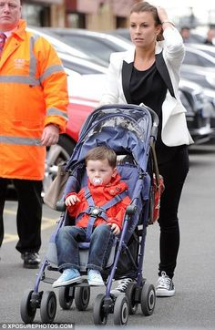Coleen Rooney spotted wearing a pair of Converse Ox's