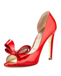 Valentino Couture Bow d'Orsay Pump #shoes