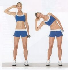 Get rid of your side fat of stomach with the help of useful workouts with proper guidance too. Lose Fat Workout, Tummy Workout, Belly Fat Workout, Fat Burning Workout, Burn Arm Fat, Burn Stomach Fat, Lower Belly Fat, Lose Belly, Arm Fat Exercises