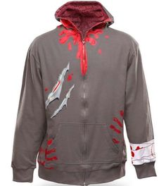 The Zombie Attack Hoodie Will Keep You Warm During the Zombie Apocalypse #zombies trendhunter.com