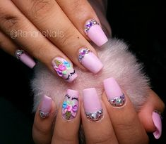 What Christmas manicure to choose for a festive mood - My Nails Cute Nail Art, Cute Nails, Pretty Nails, My Nails, Unicorn Nail Art, Unicorn Nails Designs, Bright Red Nails, Feather Nails, Nails For Kids