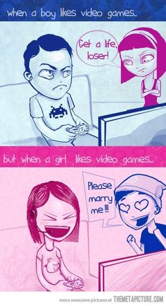 When a girl likes video games… #xbox #xbox360 #videogames #gamecheats BTW, please visit: http://cheating-games.imobileappsys.com