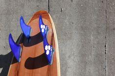 Wooden Surfboard with FSC II Quad-Setup
