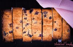 Five Ingredient Blueberry and Banana Bread
